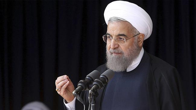 """İran Cumhurbaşkanı Hasan Ruhani: """"Koronavirüs davetsiz bir misafir gibi geldi"""""""
