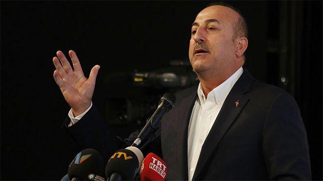 Bakan Çavuşoğlu'ndan Yunanistan'a tepki