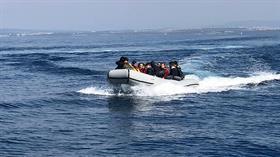 Aydın'da yapılan operasyonda 58 düzensiz göçmen yakalandı