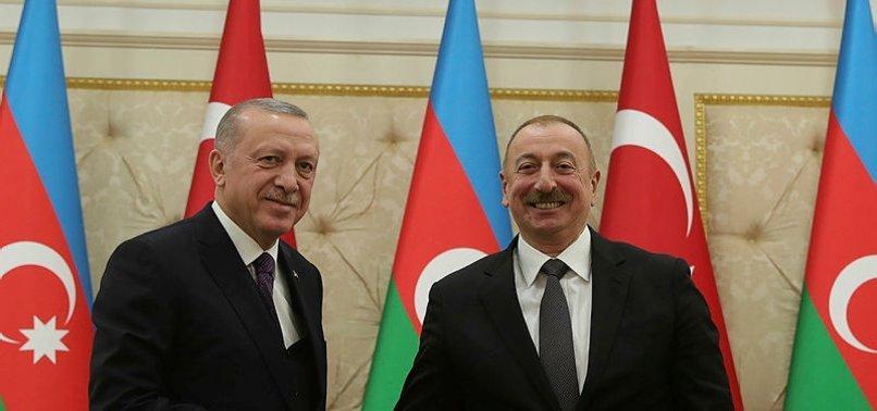 Azerbaycan Cumhurbaşkanı Aliyev, Başkan Erdoğan'ın doğum gününü kutladı