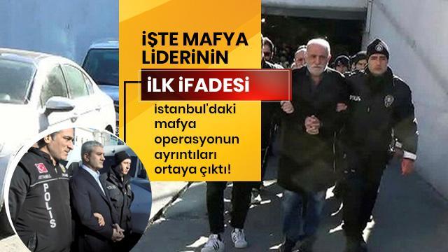 Mafya lideri Yakup Süt'ün ifadesi ortaya çıktı!