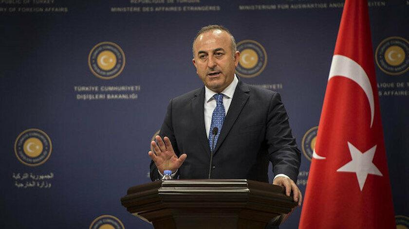 Bakan Çavuşoğlu: Rejim işgal ettiği bölgelerden çekilmeli