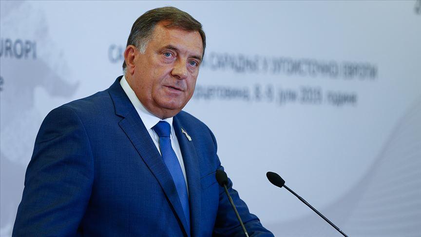 Sırp lider Dodik, ayrılıkçı söylemleriyle Bosna Hersek'teki krizlerin mimarı oldu