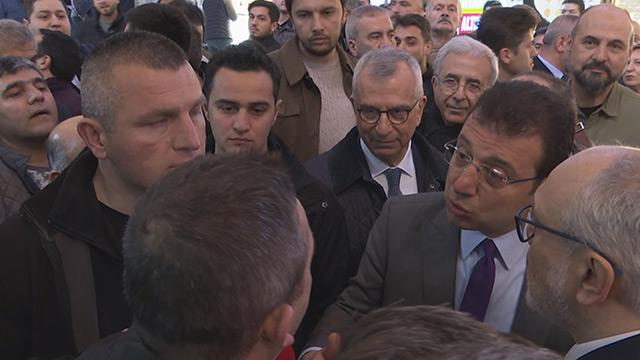 Ekrem İmamoğlu'na vatandaştan zam tepkisi