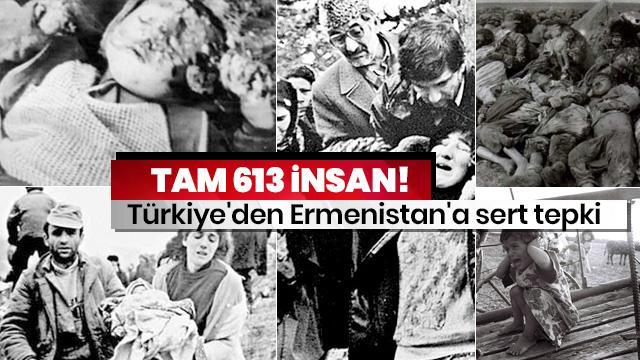 Türkiye'den Ermenistan'a sert tepki
