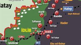 Son dakika: Muhalifler İdlib'de Serakib kasabasını geri aldı