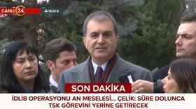 AK Parti Sözcüsü Ömer Çelik: Tahammülümüz yok