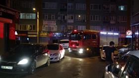 Bursa'da 5 katlı binada korkutan yangın