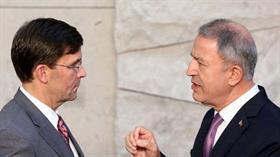 Bakan Akar, ABD'li mevkidaşı Esper ile görüştü