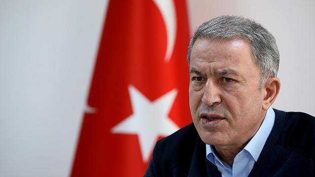 Milli Savunma Bakanı Hulusi Akar: 200'ü aşkın rejim hedefi ağır ateş altına alındı