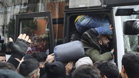 Düzensiz göçmenlerin Avrupa'ya geçmek amacıyla Edirne'ye gidişi sürüyor