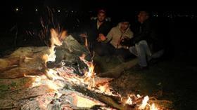 Edirne'de, mültecilerin soğukla imtihanı