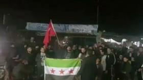 İdlib halkından Mehmetçiklerimize destek gösterisi