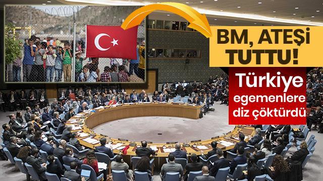 Türkiye kapıları açınca, BM hemen açıklama yaptı