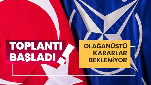 NATO toplantısı başladı