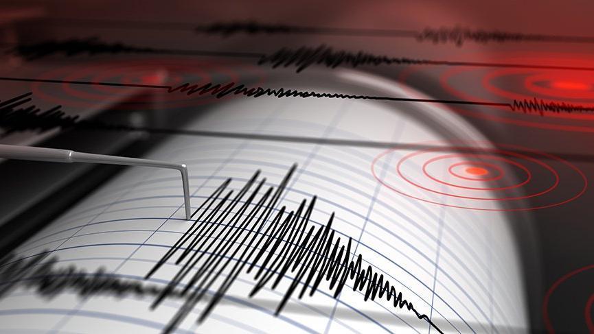 Van'da korkutan deprem  AFAD-Kandilli son depremler