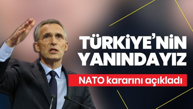 NATO'daki olağanüstü Suriye toplantısı sonrası ilk açıklama