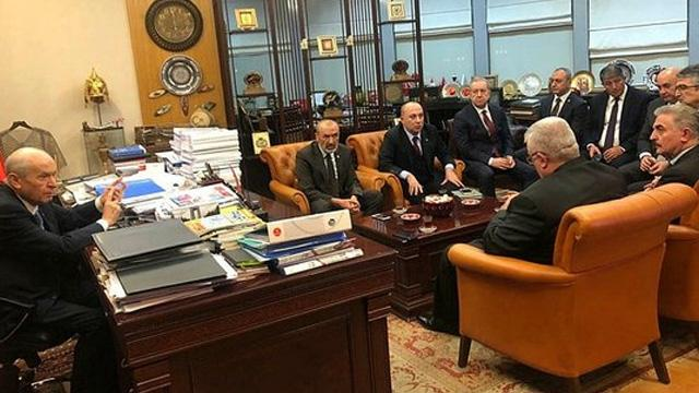 MHP lideri Devlet Bahçeli: Bütün ezberler bozulmuştur!