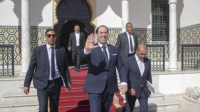 Tunus'ta İlyas el-Fahfah'ın kurduğu yeni hükümet göreve başladı