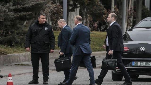 Türk ve Rus heyetlerin görüşmesi sona erdi