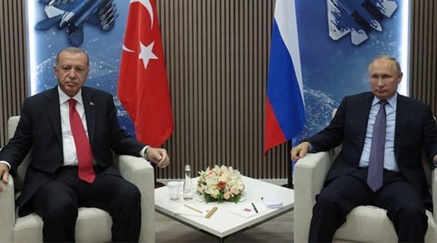 Son dakika... Başkan Erdoğan, Putin ile görüştü