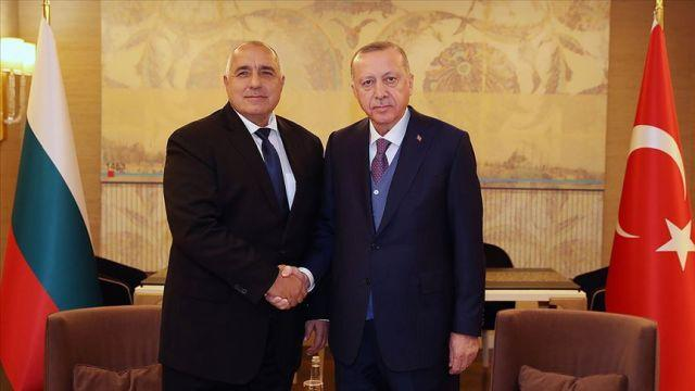 Başkan Erdoğan Bulgaristan Başbakanı Borisov ile görüştü