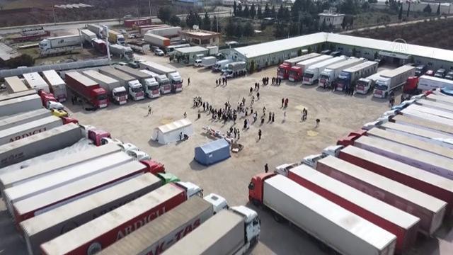 Katar'dan Suriye yardımı