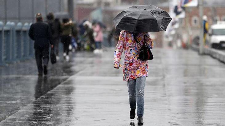 Meteoroloji kuvvetli yağış uyarısı! Haftasonu plan yapacaklar dikkat