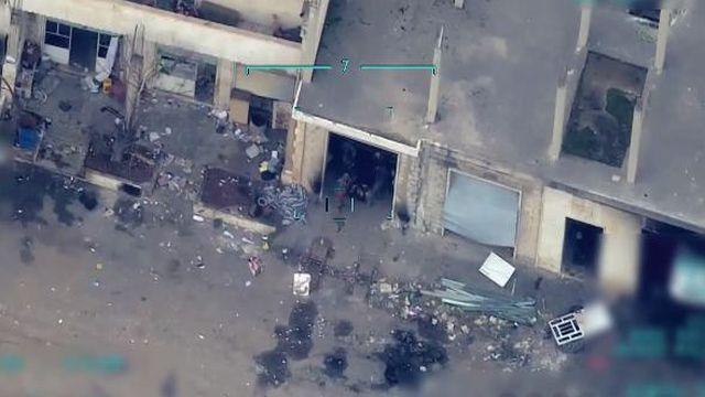 Rejim hedefleri işte böyle vuruldu