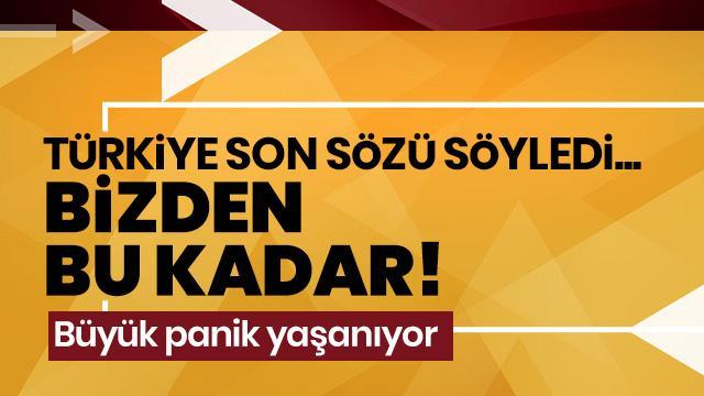 Türkiye'den Avrupa'ya mülteci mesajı: Bizden bu kadar!