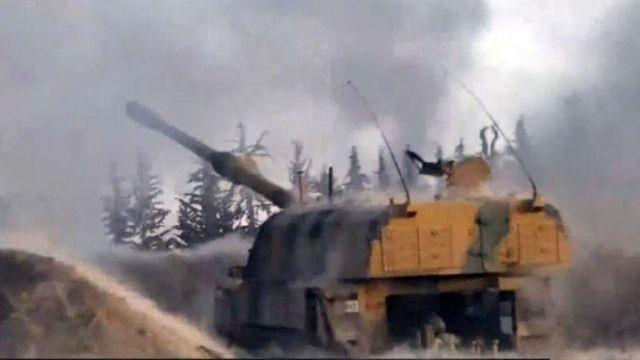Rejim hedeflerinin ateş altına alındı, 56 rejim askeri imha edildi