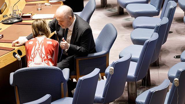 BM Daimi Temsilcisi Feridun Sinirlioğlu ile ABD temsilcisi Kelly Craft'tan özel görüşme