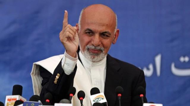 """Afganistan Cumhurbaşkanı Gani: """"Taliban ile yapılacak anlaşma şarta bağlı"""" dedi"""