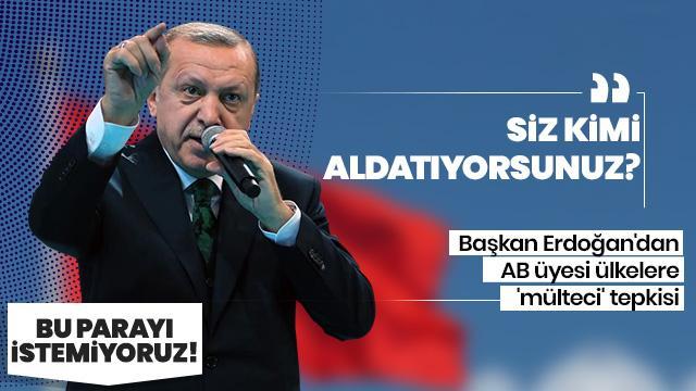 Başkan Erdoğan: AB 18 Mart Bildirisinin gereklerini yerine getirmemiştir