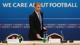 UEFA Başkanı Ceferin, futbol sezonlarının akıbetini değerlendirdi: Üç seçenek var