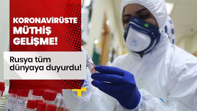 Koronavirüste müthiş gelişme!