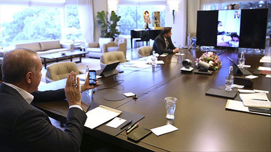 Başkan Erdoğan karantina sürecinde doğum yapan Sevda Gül'ü tebrik etti