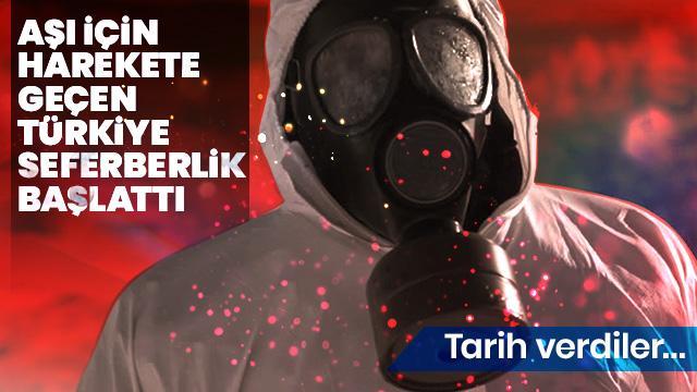 Türkiye'de koronavirüs aşısı için ilk adım