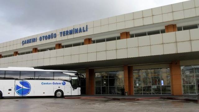 Çankırı'da otobüs seferleri 2'ye düştü
