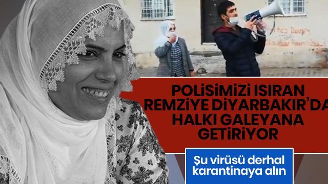 Koronavirüs Diyarbakır sokaklarında
