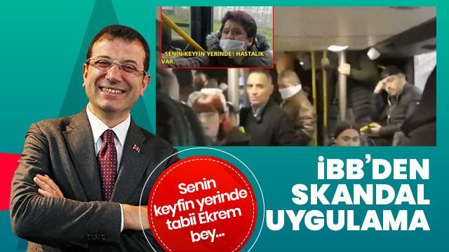 İBB koronavirüs salgınını hiçe sayarak metrobüs seferlerini azalttı! Vatandaş isyan etti!