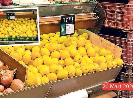 Koronavirüs bükücü limonun fiyatı tavan yaptı! 18 lirayı gördü...