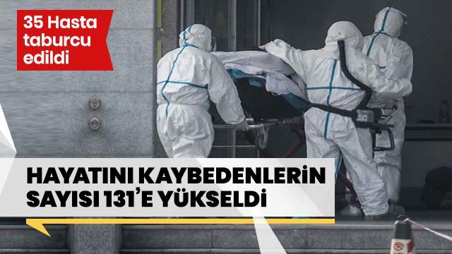 Sağlık Bakanı Koca açıkladı! Türkiye'de can kaybı 131'e yükseldi