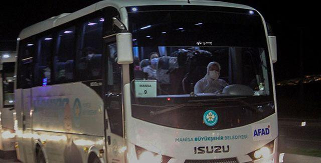 ABD'den gelen 210 kişilik heyet Manisa'da karantinaya alındı