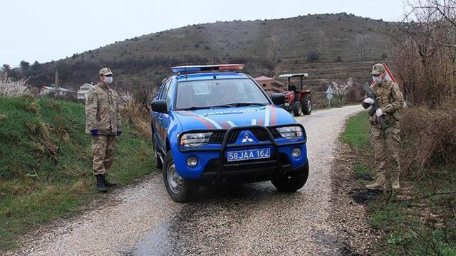 Bayburt'ta 2 köy karantinaya alındı