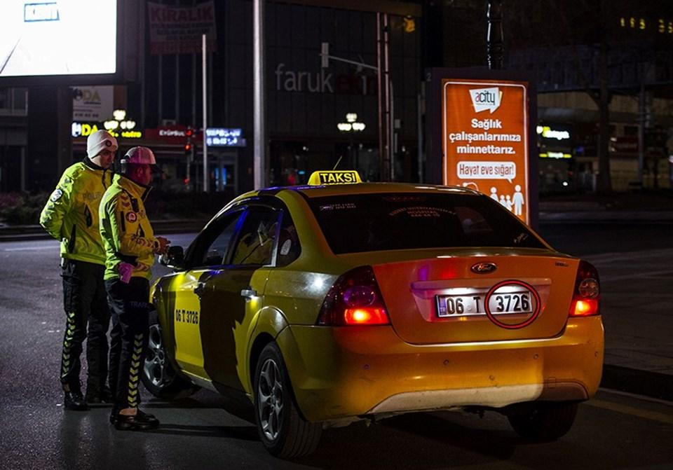 Ticari taksilere plakaya göre sınırlama! İlk cezalar kesildi