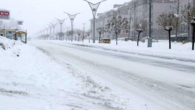 Bitlis'te yağan kar, hayatı olumsuz etkiledi