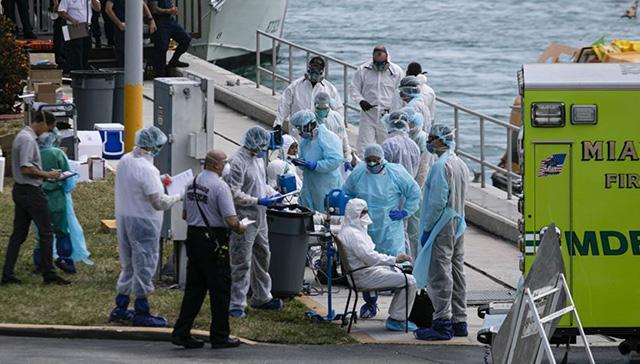 ABD'deki emniyet birimlerinde koronavirüs endişesi artıyor