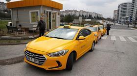"""Başkent'te iki taksi durağının plaka kısıtlamasında """"tek-çift"""" şanssızlığı!"""