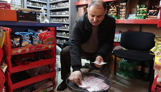 Koronavirüse Karadeniz usulü çözüm: Paraları 100 derecede kaynatıyor